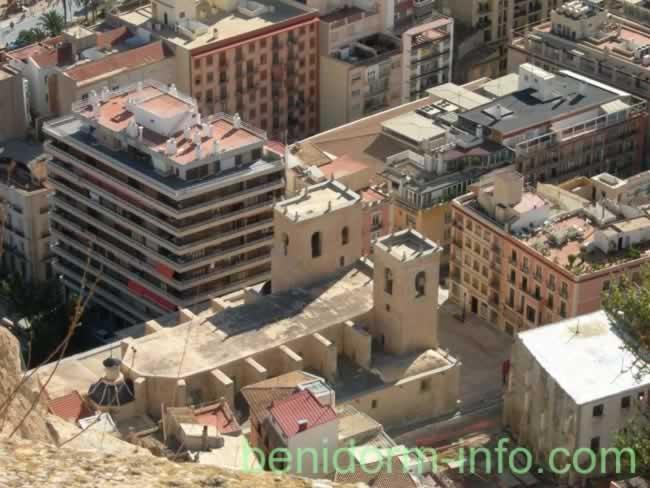 Santa Barbara Castle Map, Description & Photographs Alicante